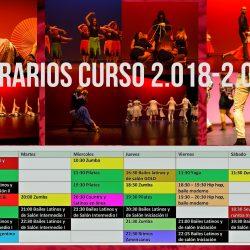 Horarios curso 2018 2019